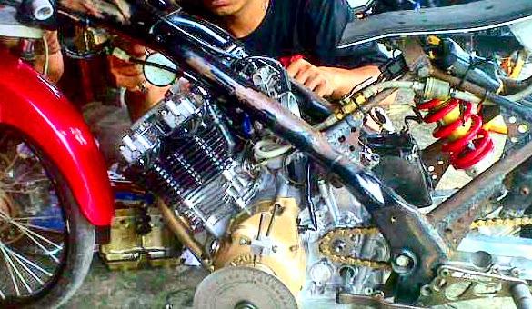 Cara Bore Up Harian Motor Satria Fu 200cc Aman Modif Drag