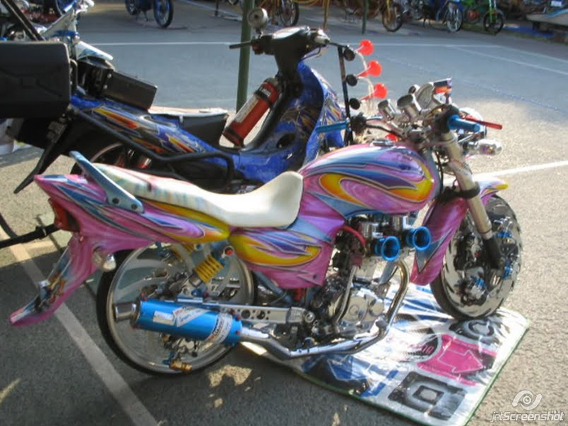 kumpulan Variasi Motor Megapro 2005