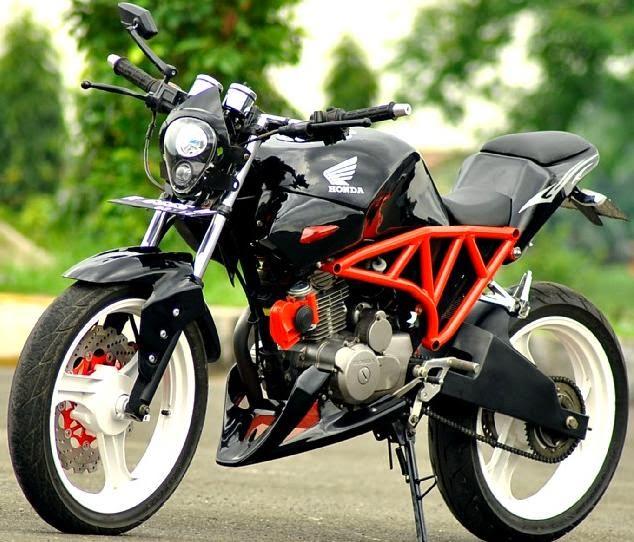 motor modifikasi megapro  paling bagus