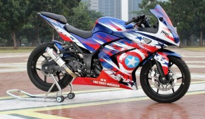Gambar Modifikasi Ninja 4 Tax 250cc Keren 2016