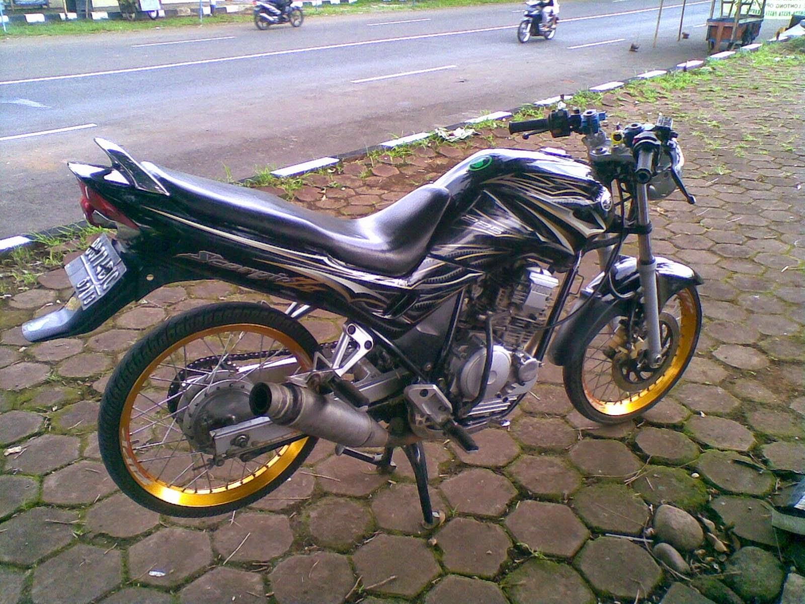 Ufeff40 Gambar Modifikasi Yamaha Scorpio Sporty Keren