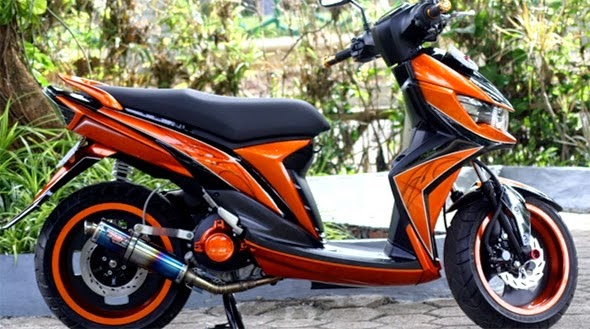 Modifikasi New Mio Soul