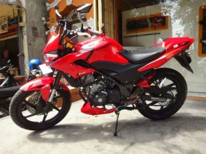 modifikasi honda cb 150 street fighter