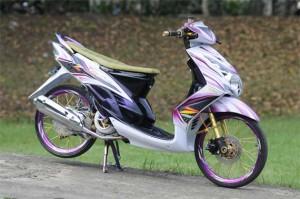 modifikasi yamha soul ala thai look