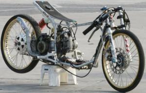 100 Gambar Modifikasi Motor Drag Mio Terbaru