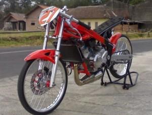 50 Gambar Modif Motor Drag Ninja R