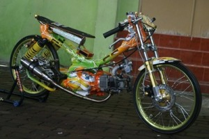 50 Gambar Modifikasi Motor Drag Jupiter Z