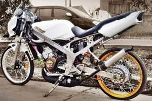 50 Gambar Modifikasi Motor Drag Ninja R