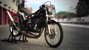 Gambar Modifikasi Motor Drag Ninja R