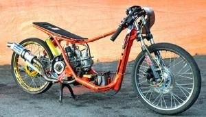 Gambar Motor Drag Mio Terbaru