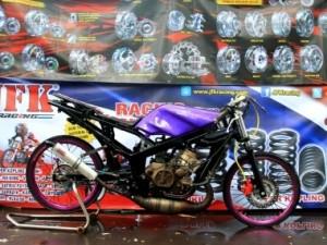 Gambar Motor Drag Ninja R
