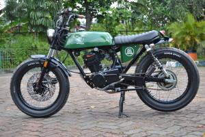 20 Gambar Modifikasi Motor Honda GL Pro