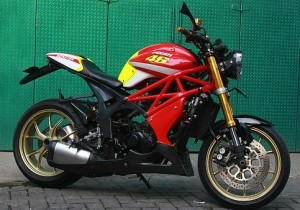 20 Gambar Modifikasi Motor Tiger Gagah dan Keren