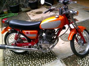 20 Modifikasi Motor Honda GL Pro Gagah & Keren