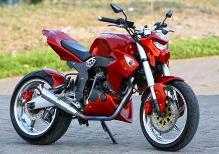 30 Gambar Modifikasi Motor Tiger Gagah Keren Modif Drag