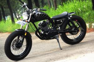 Gambar Modifikasi Motor Honda GL Pro Gagah & Keren