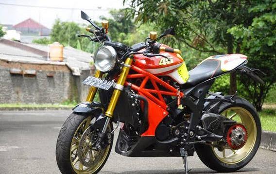 30 Gambar Modifikasi Motor Tiger Gagah & Keren