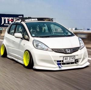 Kumpulan Modifikasi Honda Jazz Keren & Mewah