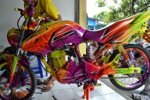 Kumpulan Modifikasi Motor Tiger Gagah dan Sporty