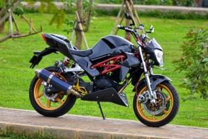 Modifikasi Motor Tiger Gagah dan Keren 2016
