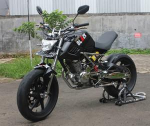Modifikasi Motor Tiger Gagah dan Keren