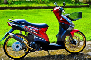 50 Gambar Modif Honda Beat Road Race & Drag