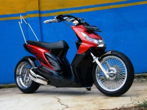 Gambar Modif Honda Beat Road Race & Drag