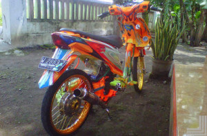 Gambar Modifikasi Honda Beat Road Race & Drag