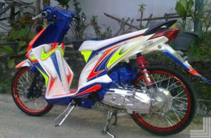 Gambar Modifikasi Honda Beat Road Race & Drag Terbaru