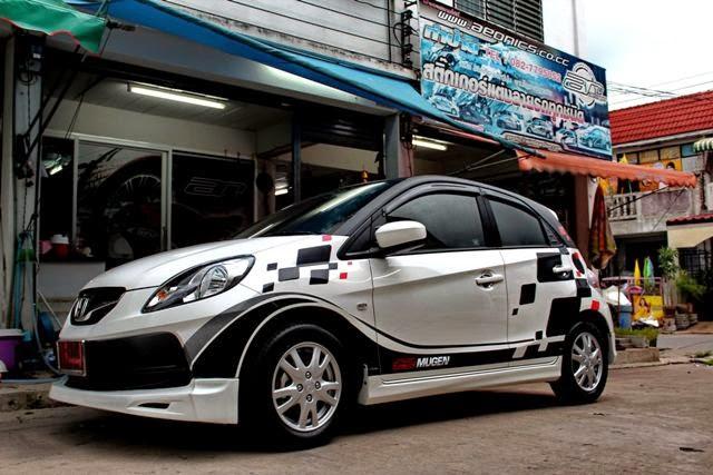 50 Gambar Modifikasi Honda Brio Keren Terbaru Modif Drag