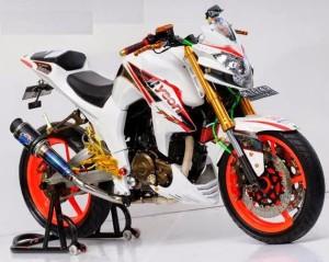Mode Modifikasi Yamaha Byson Terbaru Fairing (3)