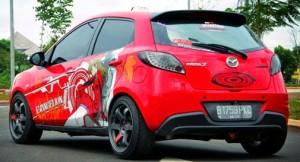 Modifikasi-toyota-agya-2014-jadi-mobil-balap-merah