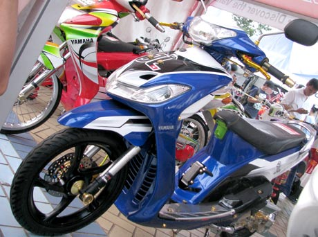 modifikasi motor mio sporty 2011 paling bagus