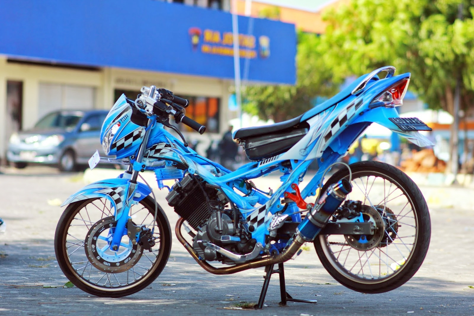 contoh motor modifikasi satria fu
