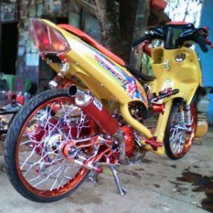 modifikasi yamaha mio street racing