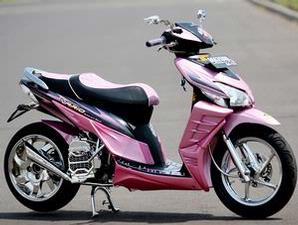 Foto Modifikasi Honda Vario Pink