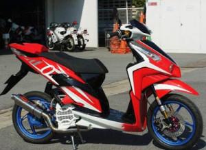 Gambar Modifikasi Honda Vario 150 eSP Techno Terbaru
