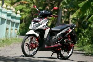 Gambar Modifikasi Honda Vario Techno 125