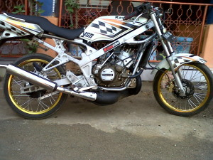 Gambar Motor Ninja R 150 Dico Air Brush