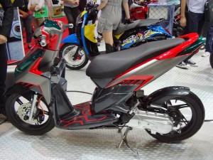 Hasil Gambar Modifikasi Motor Honda Vario 125
