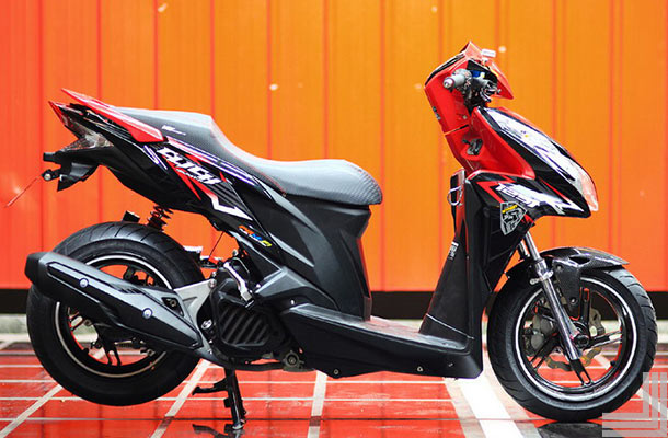 Kumpulan Gambar Modifikasi Honda Vario Techno Terbaru
