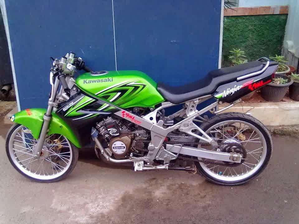 contoh modifikasi motor ninja 150