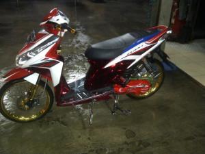 Modifikasi Honda Vario Konsep Thailook