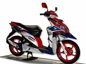 Modifikasi Honda Vario Techno terbaru