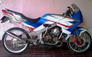 Modifikasi Kawasaki Ninja R 150 Ala Thailook
