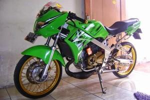 Modifikasi Kawasaki Ninja R 150 Terbaru