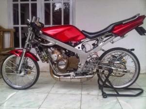 Modifikasi Kawasaki Ninja R 150 elegan