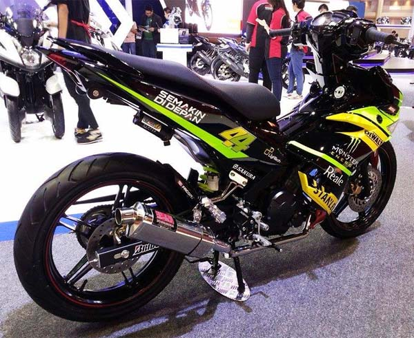 referensi modifikasi motor mx king 150cc
