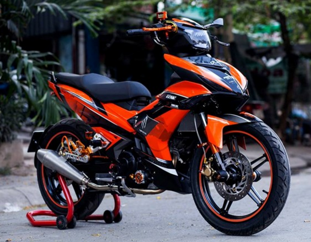 50 Gambar Modifikasi Yamaha MX King 150 Gagah & Sporty